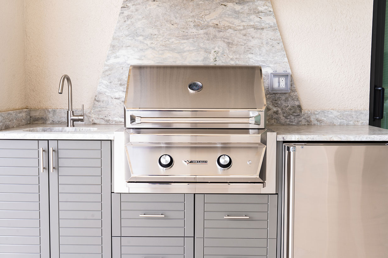 Outdoor Kitchen Cabinet and More
