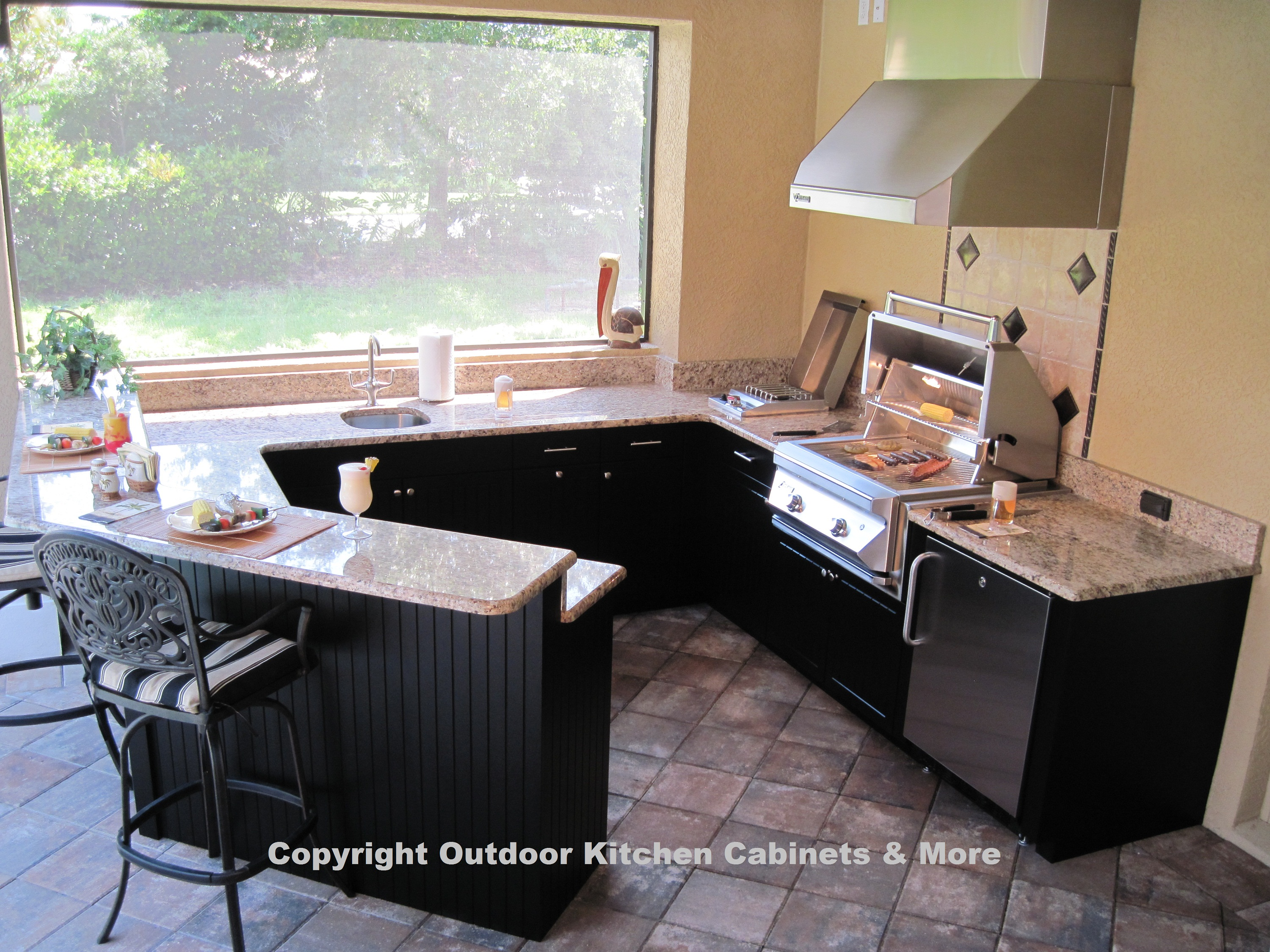 Outdoor Kitchen Furniture Outdoor Kitchen Cabinets More Quality Outdoor Kitchen Cabinets