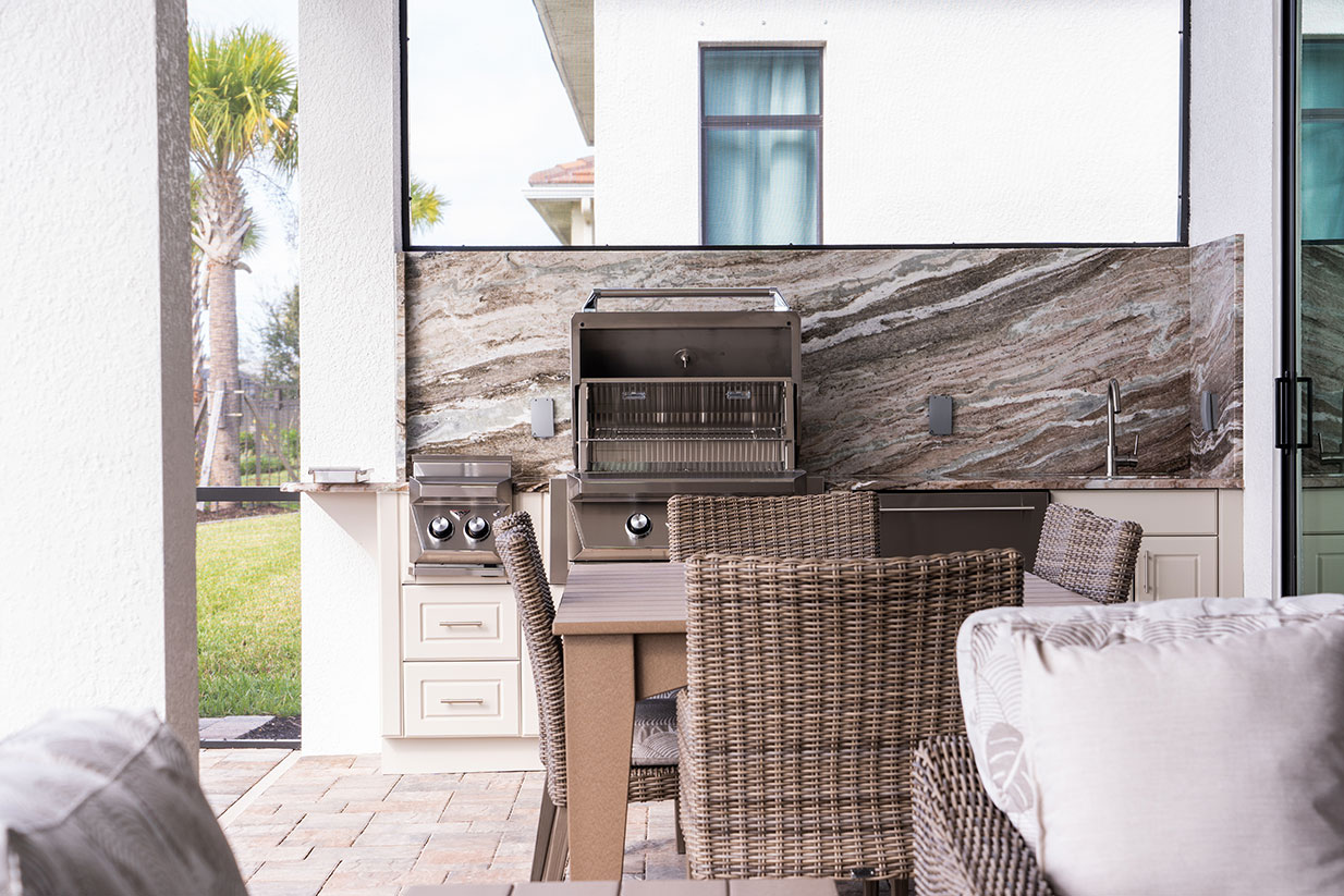 Outdoor Kitchen Cabinets and More